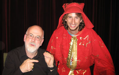 Terry Pratchett and David